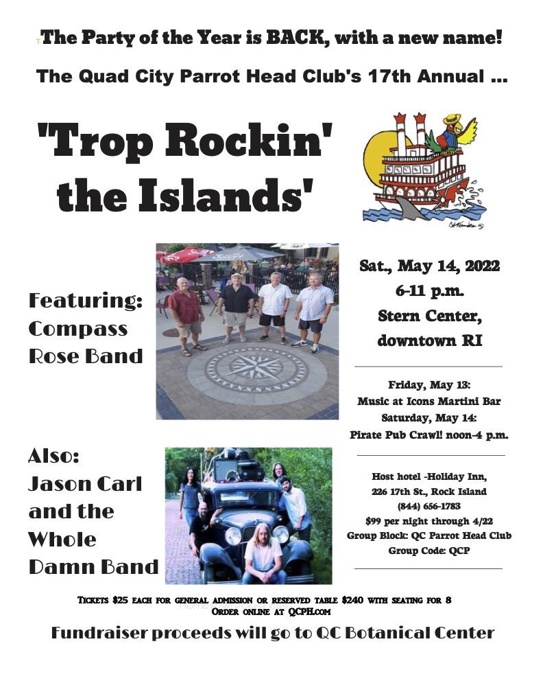 Trop Rockin' The Islands